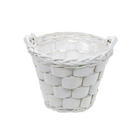 Duif Wholesale - Grey willow - Basket Declo White - White