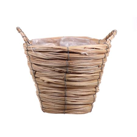 Basic Collection - Grey willow - Basket Paia1 Natural - Beige