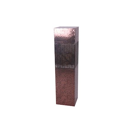 MAR10collection - Wood - Decorative item Kervignac Metallic Copper - Brown