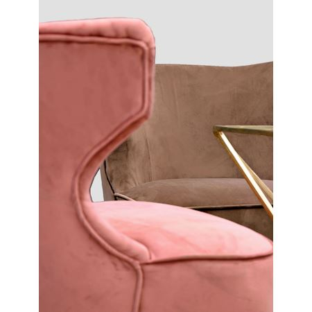 MAR10collection - Fabric - Chair Baylis Pink - Pink