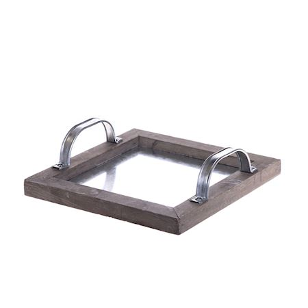 Duif Wholesale - Wood - Tray Giona Grey - Grey