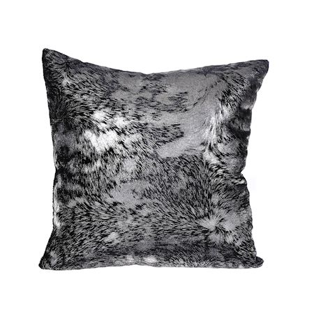 MAR10collection - Fabric - Cushion Vaivre Black - Black