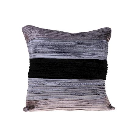 MAR10collection - Fabric - Cushion Jargeau Black - Black