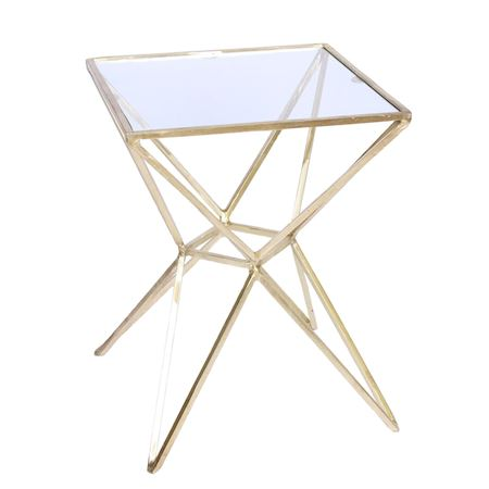 MAR10collection - Metal - Table Lacaune Gold - Gold