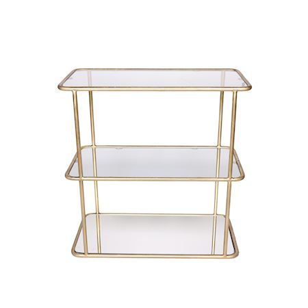 MAR10collection - Metal - Table Lagrave Gold - Gold