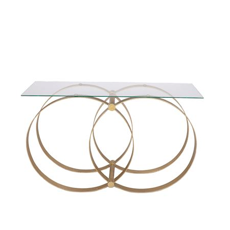 MAR10collection - Metal - Table Lancey Gold - Gold