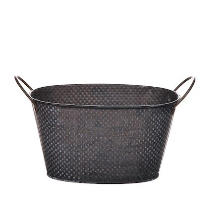 Basic Collection - Zinc - Planter Yasmina Grey - Grey