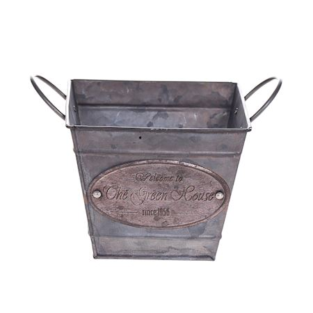 Duif Wholesale - Zinc - Planter Binc Grey - Grey