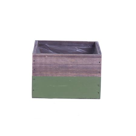Duif Wholesale - Wood - Planter Argo2 Green - Green