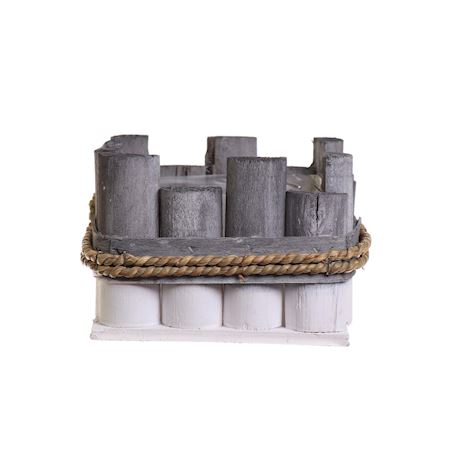 Duif Wholesale - Wood - Planter Gerlaw Grey - Grey