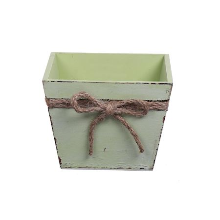 Duif Wholesale - Wood - Planter Pixley1 Green - Green