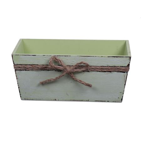 Duif Wholesale - Wood - Planter Pixley Green - Green