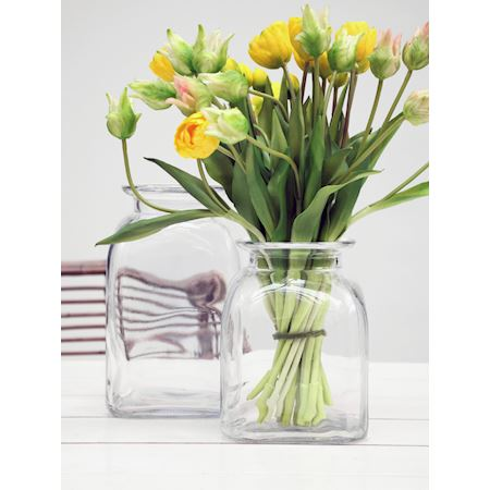 Duif Wholesale - Glass - Pot Bellona Clear - Clear