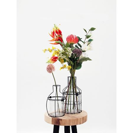 Duif Wholesale - Metal - Planter Carmella Black - Black