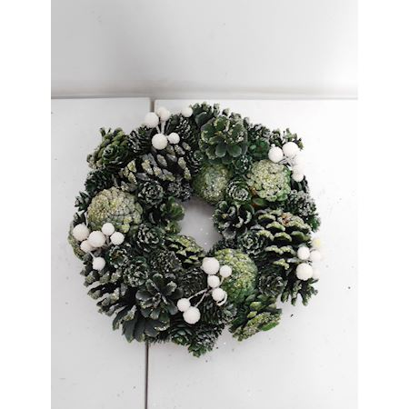 Duif Wholesale - Other - Wreath Christey Green - Green