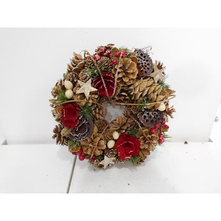 Duif Wholesale - Other - Wreath Christey1 Red - Red