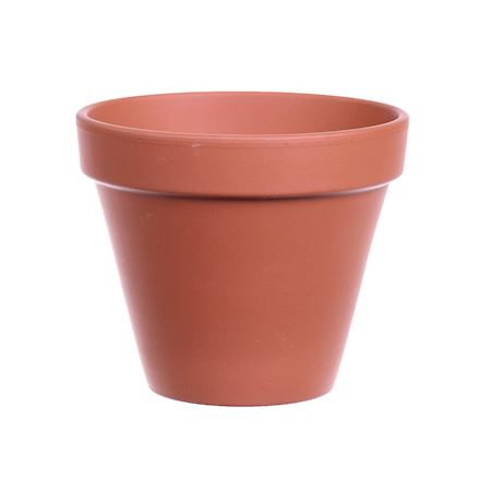 Basic Collection - Ceramics - Pot Bailey Terracotta - Brown
