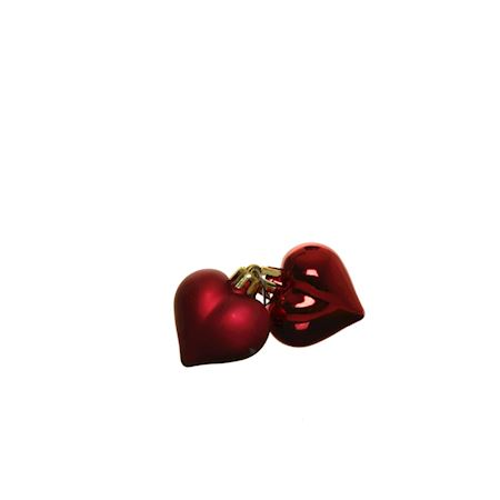 Colombier Collection - Glass - Christmas ball Lovely Red - Red