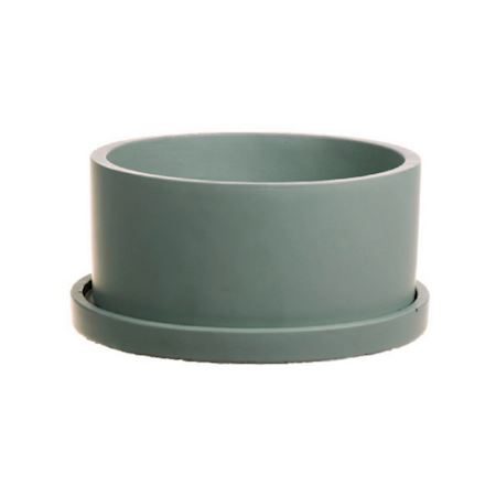 Duif Wholesale - Concrete - Planter Bari1 Hemlock green - Green