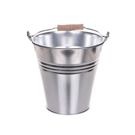 Duif Wholesale - Metal - Bucket Bushkill Chromium - Silver