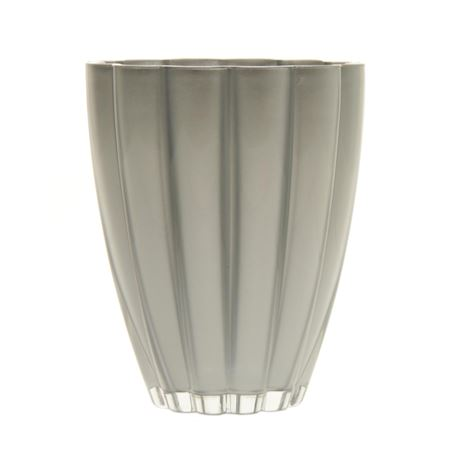 Duif Wholesale - Glass - Vase Bloom Silver - Silver