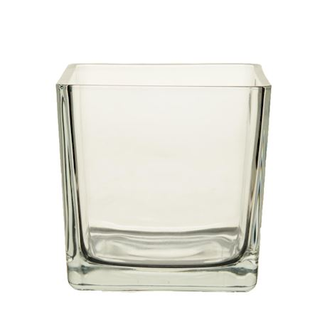 Basic Collection - Glass - Pot Abbey2 Clear - Clear