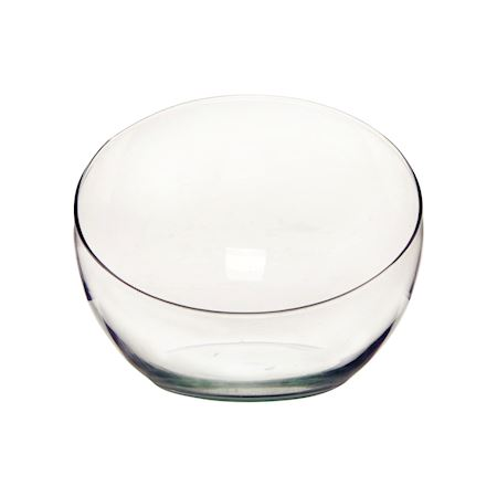 Duif Wholesale - Recycled glass - Bowl Spider1 Clear - Clear