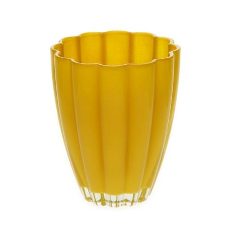 Duif Wholesale - Glass - Vase Bloom Ochre - Yellow