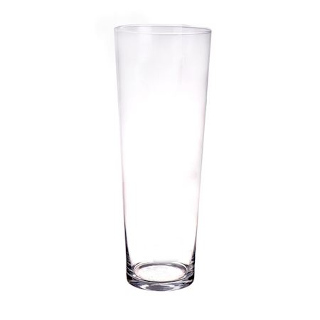 Basic Collection - Glass - Vase Jimmy Clear - Clear