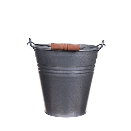 Duif Wholesale - Metal - Bucket Bushkill Antique - Grey