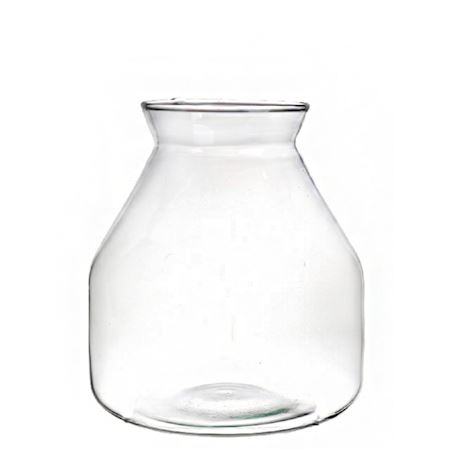 Duif Wholesale - Recycled glass - Vase Kolton Clear - Clear