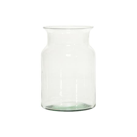 Duif Wholesale - Recycled glass - Vase bose10 Clear - Clear