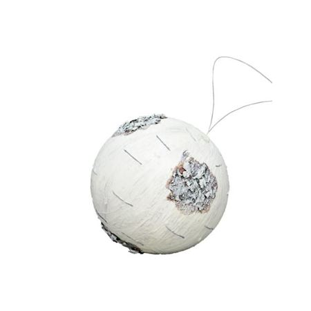 Close2Real - Silk - birch balls white d12cm 884218500 - White