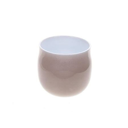Duif Wholesale - Ceramics - Planter Tesla Metallic Taupe - Brown