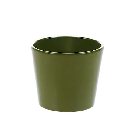 Basic Collection - Ceramics - Pot Dida Olive - Green
