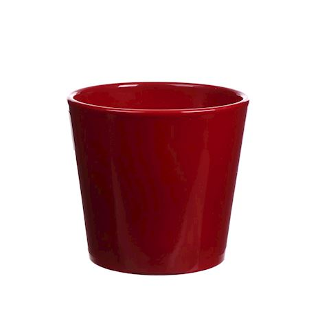 Basic Collection - Ceramics - Pot Dida Red - Red