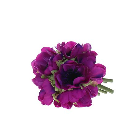 Close2Real - Silk - anemone ball purple 12cm (s) 885028600 - Pink