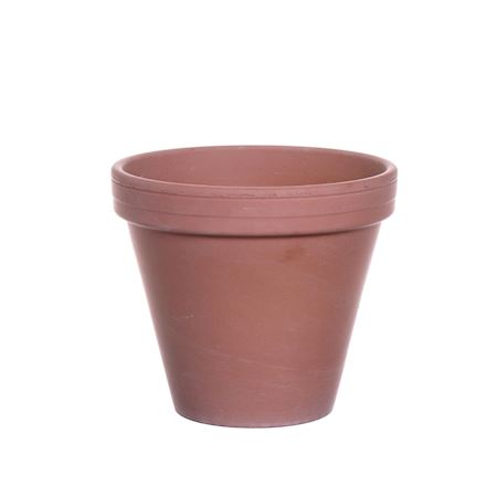 Basic Collection - Ceramics - Pot Bailey Terracotta antique - Brown