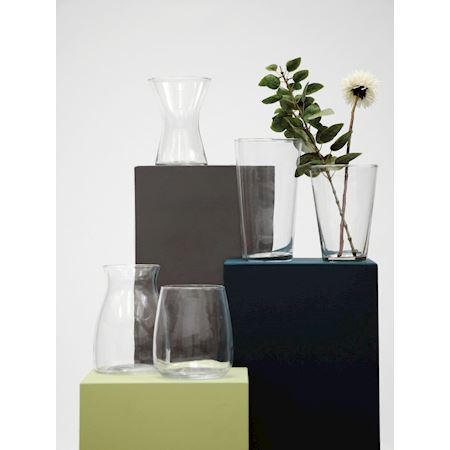 Basic Collection - Glass - Vase Arimo Clear - Clear