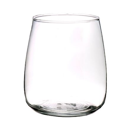 Basic Collection - Glass - Vase Alzada Clear - Clear