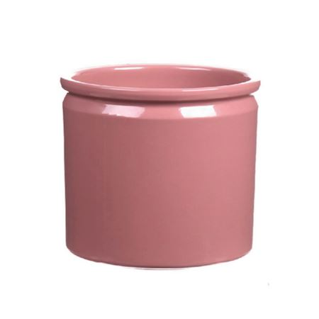 Basic Collection - Ceramics - Pot lucca Old Pink - Purple