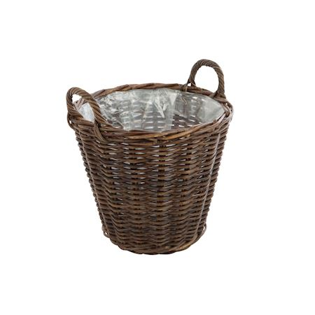 Basic Collection - Rattan - Basket Petros Brown - Brown