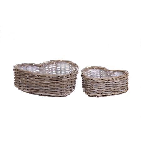 Duif Wholesale - Rattan - Basket Pevely Grey - Grey