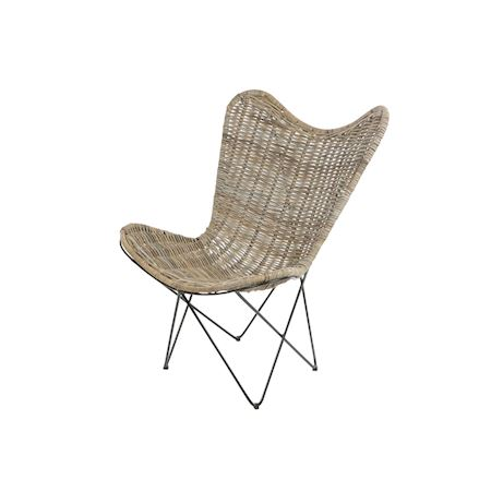 Duif Wholesale - Rattan - Chair Pinola Grey - Grey