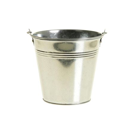 Basic Collection - Metal - Bucket Ivydale Silver - Silver